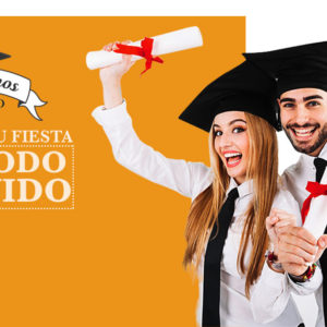 Celebramos contigo tu graduación