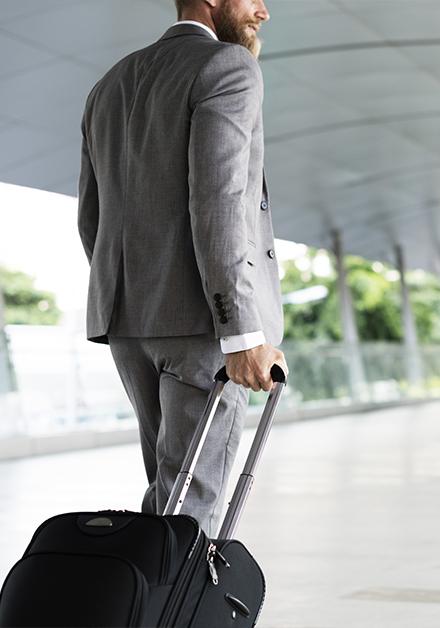 Sácale provecho a tus viajes de negocios.