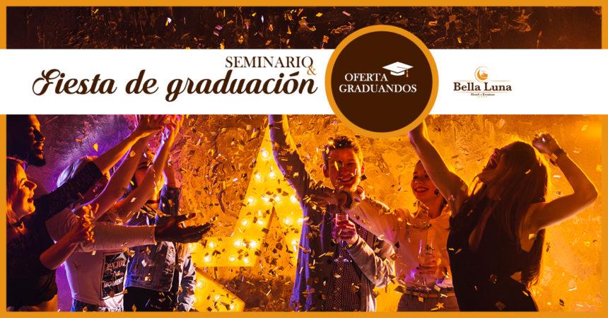 ¡Vamos a celebrar tu graduación!